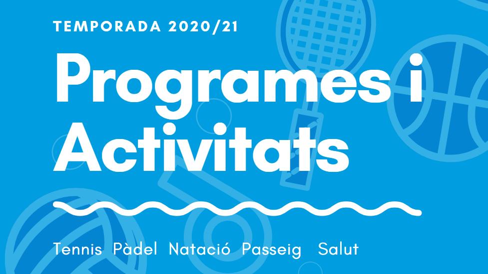 Programes i Activitats 2020/2021