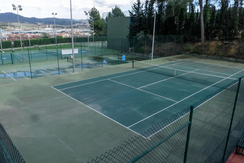 Foto edifici Pistes de tennis quick