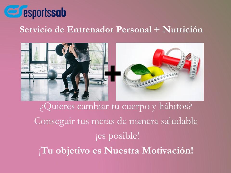 Nou servei d'entrenador personal i nutrició
